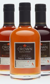 Crown Mapl;e Syrup Product line